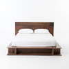 Bonnie Reclaimed Wood Low Profile Japanese Platform Bed