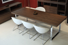 Crescent Wire Dining Chair