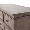 Sierra Reclaimed Wood Chest 7 Drawer Cabinet