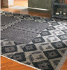 Tile Hand Knotted Gray Wool Area Rugs sale