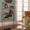 glass etagere ideas