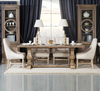 French Dining Room with Trestle Dining Table