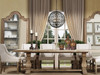 Dining Room Design with pedestal dining table