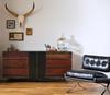 Nash Indusrial Reclaimed Wood 6 Drawer Dresser