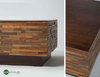 Landon Mixed Wood Square Coffee Table