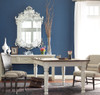 """Beach Cottage 87"""" Rectangular White Dining Room Table"""