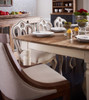 Beach Cottage Reclaimed Wood Kitchen Table