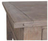 Coastal Solid Wood Console Table with Drawers