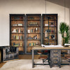 French Library Bookcase with Ladder, hgtv