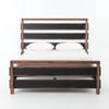 Nash Reclaimed Wood & Steel Queen Platform Bed
