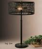 Alita Rustic Black Metal Table Lamps sale