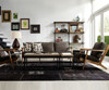 Masonry Concrete Box Frame Rectangular Coffee Table