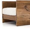 Franklin Wood Accent Arm Chair-Yukas