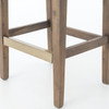 Wood Leg  Counter Stools