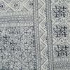 Lucille Batik Indigo Upholstered Bed End Bench