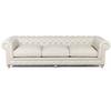 "Warner Linen Chesterfield 118"" Sofa"