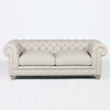 "Warner Linen Chesterfield 77"" Sofa"