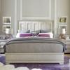 King Panel Bed, Malibu White