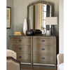 Devon French Country Oak 6 Drawer Dresser sale