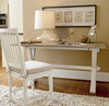 Coastal Beach White Oak Desk