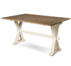 Coastal Beach White Drop Leaf Kitchen Console Tables