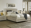 Modern Gray king storage platform bed