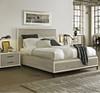Modern Gray Queen storage platform bed