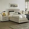 Modern Gray affordable 6 Piece bedroom sets