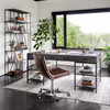 Malibu Distressed Whiskey Leather Office Desk Chairs