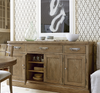 French Modern Light Wood 4 Door buffet sideboard furniture