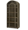 French Modern Industrial Metal and Glass Curio Cabinet