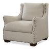 Connor Belgian Linen Slope Arm Upholstered Chair