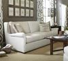 Haven Belgian Linen Upholstered Wingback Sofas