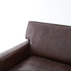 Larkin contemporary leather sectionals