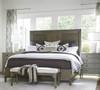 Playlist Vintage Grey Oak 4 Drawers Bedroom Chest