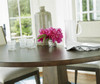 Playlist Vintage Oak Round Pedestal Dining Tables