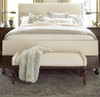 Proximity Upholstered Bedroom Benches with arms