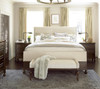 Proximity Upholstered Bedroom Bench with Nailheads