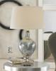 Mafalda Polished Chrome Plated Table Lamps