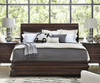 Proximity Cherry Wood Queen Size Sleigh Bed Frame