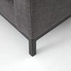 Grammercy Upholstered Modern Sofas - Bennett Charcoal