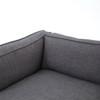 Grammercy Upholstered Modern Sofa - Bennett Charcoal