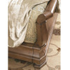 Louis Philippe Solid Wood King Sleigh Beds
