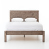 Parsons Reclaimed Wood Queen Platform Beds