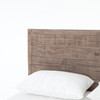 Parsons Reclaimed Wood Queen Platform Bed- Headboard