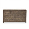 Parsons Reclaimed Wood 7 Drawers Double Dresser