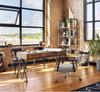 Tyler Mid-Century Modern Upholstered Office Desk Chair