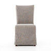Vista Parsons Slipcovered Dining Side Chair - Jute