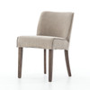 Urban-Rustic Upholstered Dining Side Chair