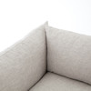 Loft Modern Beige Slipcovered Lounge Sofa 90